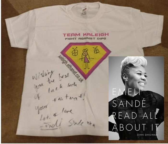 Kaleigh Shirt signed by Emeli Sande